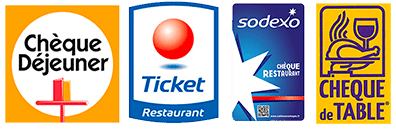 titres restaurants acceptés