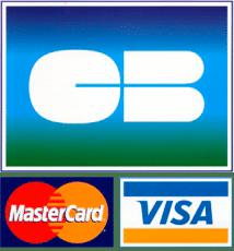 Cartes de paiement acceptées par le restaurant et l'épicerie