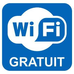 le restaurant propose le wifi gratuit illimité